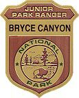 junior ranger badge Bryce Canyon
