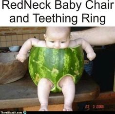 There I Fixed It: Parenting Level: Watermelon Exercise and a nutritional snack all in one lol www.adealwithGodbook.com