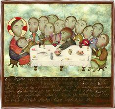 """David Popiashvili """"The Lord's Supper"""" Давид Попиашвили """"Тайная Вечеря"""""""