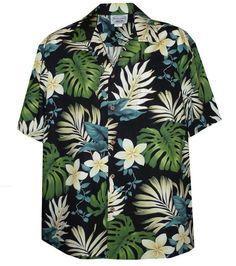 free hawaiian shirt patterns - Google Search