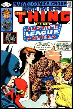 Super-Team Family: The Lost Issues!: The Thing and The Justice League of America