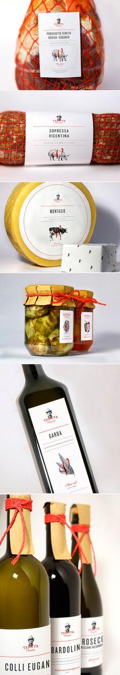 packaging / visual identity Tenuta Veneta