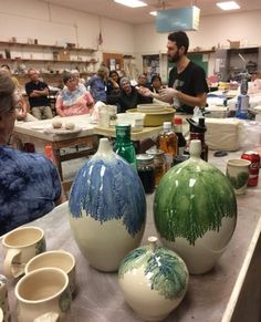 I teach workshops. Contact me for more information. kowalskipottery@gmail.com