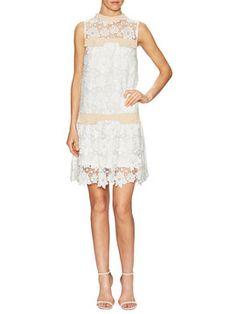 Lace Drop Waist Shift Dress from Summer Dresses Under $100 on Gilt