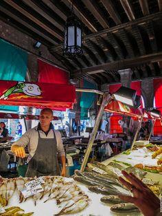 Rialto's Market, Venice #travel #photography