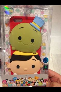 3D Disney Tsum tsum Style Silicone Soft Back Full Jiminey cricket and Pinocchio Case Cover for iPhone 5 4 4S 5S 6  samsung | eBay