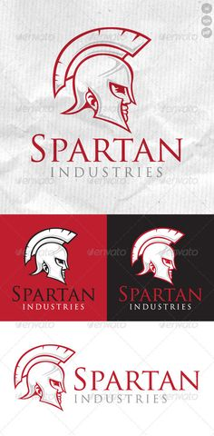 Spartan Industries Logo — Vector EPS #fight #face • Available here → https://graphicriver.net/item/spartan-industries-logo/2300098?ref=pxcr