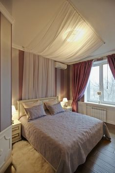 schlafzimmer-gestaltung-bett-vorhang-decke-romantisch.jpg (700×1050)