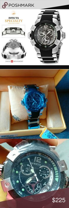 Invicta Specialty Collection Chronograph Watch NIB Men's 6303 Specialty Collection Chronograph Stainless Steel Watch. Brand New in Box. MSRP $995 NO TRADES PRICE FIRM Invicta Accessories Watches