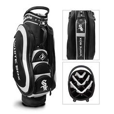 Authentic MLB Team Golf Chicago White Sox Medalist Golf Cart Bag - NEW IN BOX