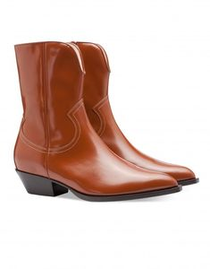43d8198e42 Image Leather Ankle Boots, Low Heels, Chelsea Boots, Cowboy Boots, Brogue  Chelsea