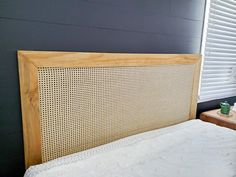 Diy King Headboard, Make Your Own Headboard, How To Make Headboard, Modern Headboard, Wood Headboard, Headboards For Beds, Making A Headboard, Diy Casa, Diy Furniture
