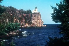 North Shore Tour Scenic Byway. Along shore of Lake Superior, Duluth, Minnesota. This is also a National Forest Scenic Byway, as it provides access to the Superior National Forest, as well as eight state parks; and outdoor enjoyment in all seasons.