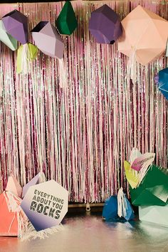 Simple backdrops can be fun photo ops and keep the costs down. Hen Party Decorations, Bid Day Themes, Disco Party, Backdrops For Parties, Steven Universe, Party Planning, First Birthdays, Party Time, Birthday Parties