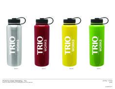 #trioworks, new drinkware