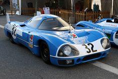 Engine sound : Matra MS de la 630 à la 670 Un dans les Hunaudières ! Vintage Sports Cars, Classic Sports Cars, Vintage Race Car, Vintage Auto, Sports Car Racing, Sport Cars, Motor Sport, 3008 Peugeot, Peugeot 205