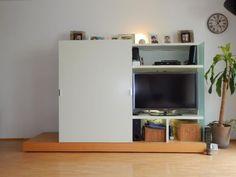 Nur die Idee TV hinter schiebetür verschwinden lassen zu können ...
