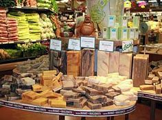 Whole Foods Hawaii natural soap retail by the ounce