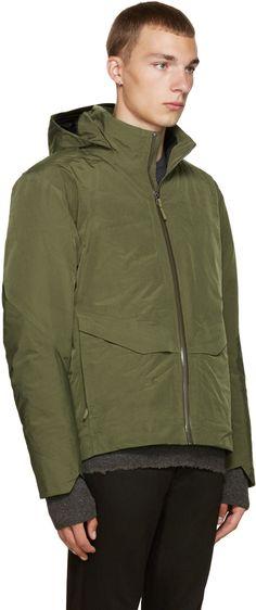 Arc'teryx Veilance - Green Down Node Jacket