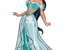 Disney Princess Jasmine Ultimate Xray