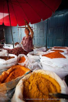 Spice market . Myanmar ★ Finde die passende Reiseausrüstung auf Vamadu.de!