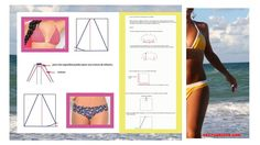 Esta es la manera más simple de hacer un bikini | patrones gratis