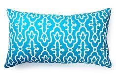 Moroccan 14x24 Outdoor Pillow, Teal