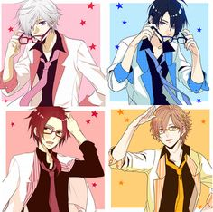 Brothers Conflict- glasses