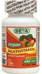 Vegan Multivitamin 90 Tablets by DEVA NUTRITION LLC. $7.87. Serving Size: 1 tablet. 90 Servings Per Container. 90 Tablets. Get the essential vitamins and minerals your body needs with DEVA Vegan Multivitamin. Balanced, multiple vitamin and mineral formula enriched with special herbs especially formulated for vegans / vegetarians. DEVA Nutrition is pleased to offer this high potency, balanced multiple vitamin and mineral especially formulated for the unique nutritional need...