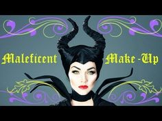 Maleficent Make-Up Tutorial - YouTube lots of dramatic make-up tutorials