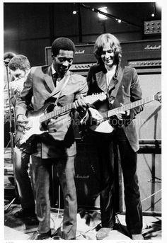 Buddy Guy and Eric Clapton, London, 1969.