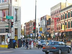 If you're looking for a high concentration of a variety of shops, head to the triple-threat area of Wicker Park/Bucktown/Ukrainian Village.