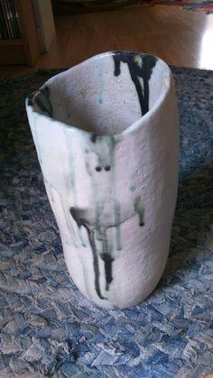 Jarrón de ceràmica hecho a mano