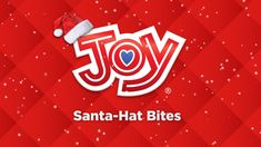 Create the perfect no-bake Christmas treats with Joy Santa-Hat Bites! The recipe is now LIVE on the blog! Happy holidays from Joy! #NoBakeDesserts #ChristmasRecipes #GiveJOY #GetJOY Santa Crafts, Holiday Crafts, Holiday Recipes, Diy Crafts, No Bake Desserts, Dessert Recipes, Christmas Scenes, Gingerbread Houses, Santa Hat