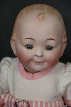 Antique Bisque Doll, 15 IN, Sleep Eyes, Antique Doll