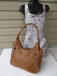 Tignanello shoulder bag Tote Brown new #Tignanello #TotesShoppers