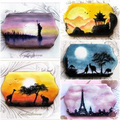 The 5 Continents: Sunsets and Landscapes