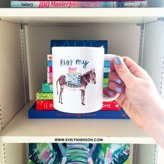 Donkey Mug by Evelyn Henson  (this is my favorite of the three mugs posted)