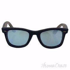 b72c90bf5 Ray Ban RB 2140 1194/30 Wayfarer Denim - Blue Denim Blue/Silver Flash by Ray  Ban for Unisex - 50-22-150 mm Sunglasses