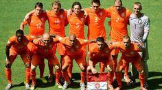 Nederlands elftal Nederland-Mexico