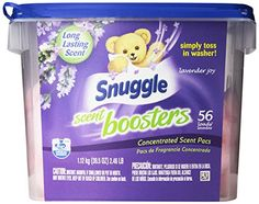 Snuggle Laundry Scent Boosters, Lavender Pleasure, Tub, 56 Rely A brand new straightforward approach to give your laundry a burst of long-lasting freshness Lava, Washer Drum, Feminine Wipes, Homemade Fabric Softener, Bad Room Ideas, Snuggles, Frugal, Personal Care, Joy