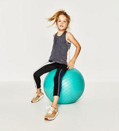 Abbigliamento sportivo per bambina | ZARA Italia