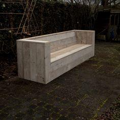 Buitenbank gemaakt door Brood & Plank