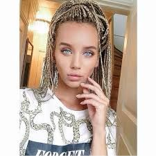 box braids white girl - Google-Suche