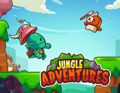 """다음 @Behance 프로젝트 확인: """"Jungle Adventure"""" https://www.behance.net/gallery/40857917/Jungle-Adventure"""
