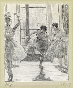 Edgar Degas, Avant la Classe (Before the Class), c. 1888-89