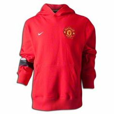 Manchester United Boys Red Core Hoody 2012/13 by Nike. $45.00. football. New for the 2012/13 season is the Manchester United Boys Red Core Hoody 2012/13 which is available now at Soccerbox in a range of sizes. The hoody is traditional Man Utd red with a warm hood to keep your child warm this winter. A large central pocket can be accessed from both sides and is ideal for storage or to keep your hands warm. The chest has an embroidered Manchester United club crest with a white st...