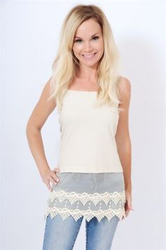 Lace shirt extenders are a must for any wardrobe! $24.00 http://www.britchesnbowscountrystore.com/cart/agora.cgi?cart_id=3512341.15737*Fc6Bs3&next=40&exact_match=on&product=boutique