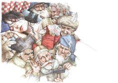 çizgili masallar: Snow White by Anne Yvonne Gilbert