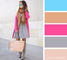 Resultado de imagen de combination colors clothes